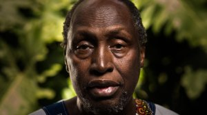 Ngugi wa Thiong'o  photographed in Kenya for the FT by Trevor Snapp