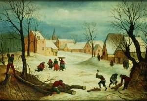 peasants-chopping-wood