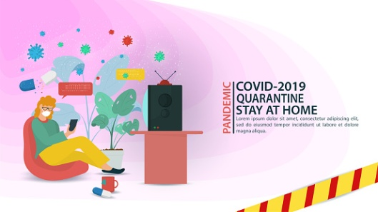 covid stay at home